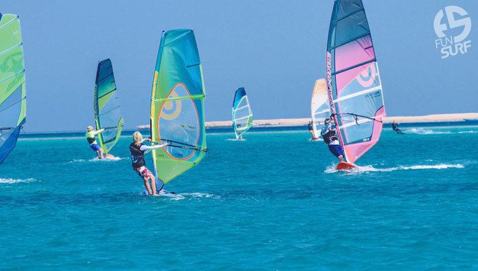 nauka windsurfing