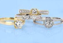 damski pierścionek